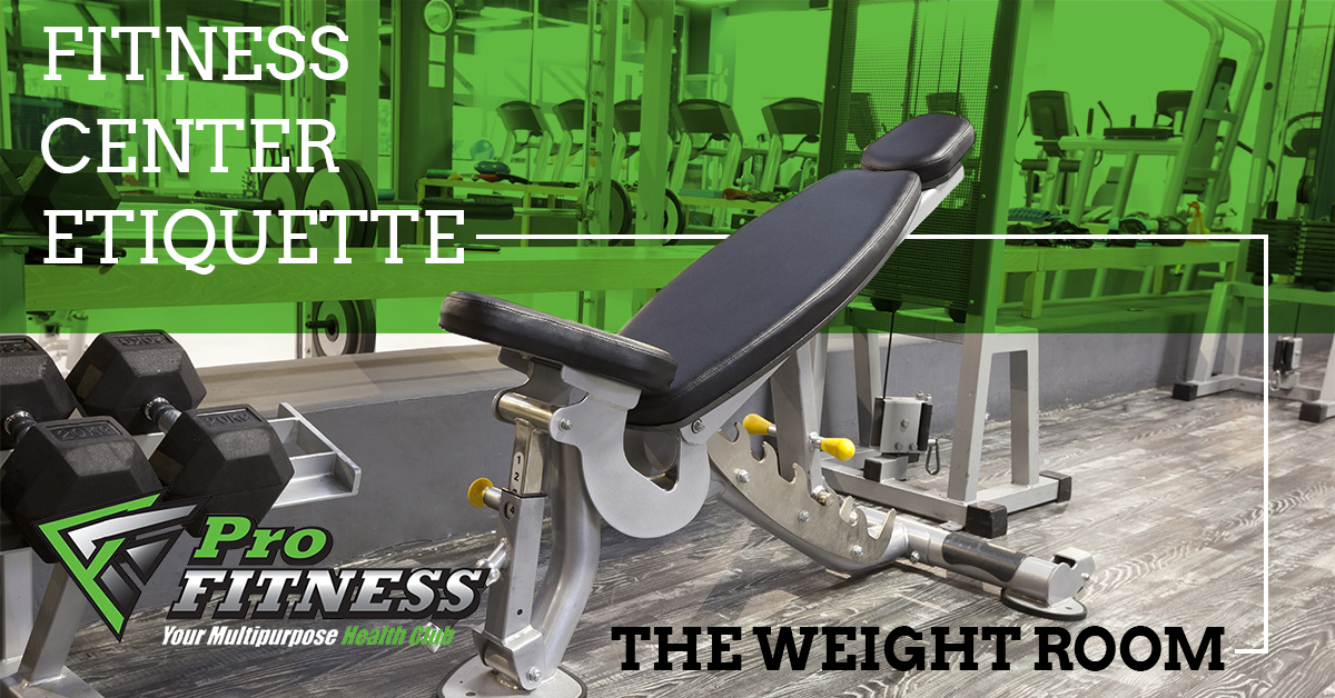 Fitness center warwick fitness center etiquette the weight room