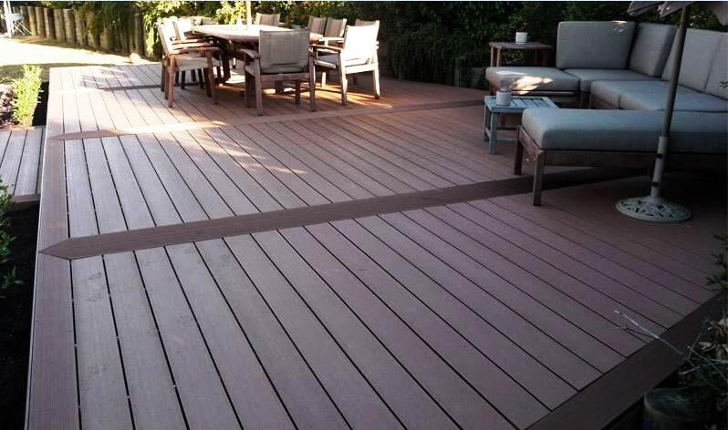 composite decking calgary landscaping