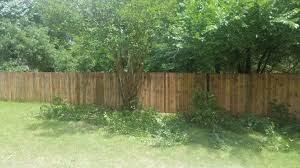 fence yard wood