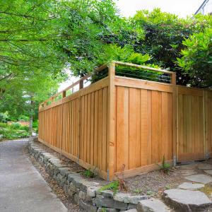 cedar fence installation calgary