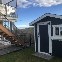 calgary backyard shed