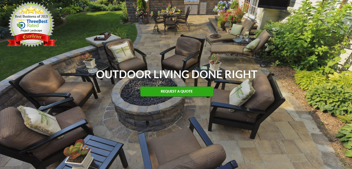 project landscape calgary outdoor living banner