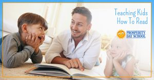 Child care tips on how to teach kids how to read