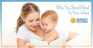 Learn why you should read to your infant and other child care tips