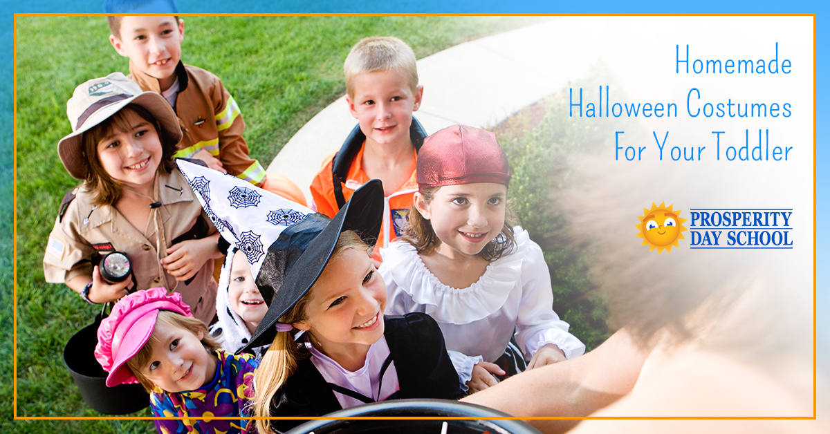 Learn how to make Halloween costumes for your toddler and get other child care tips