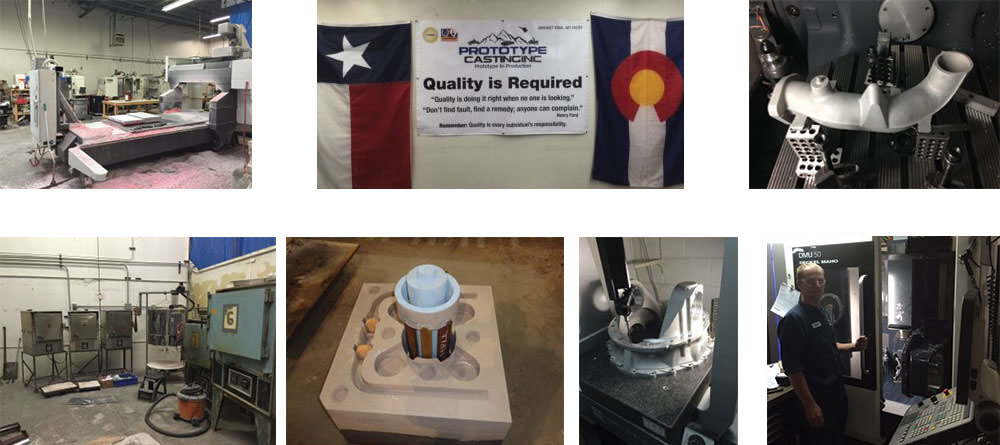 Complete metal prototype casting in Denver, CO