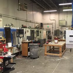 Our machined parts shop in Denver