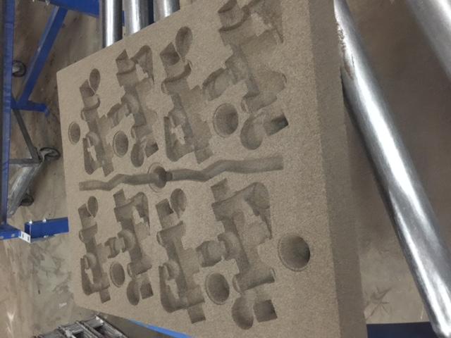 Precision Sand Casting - No Bake Sand Makes High Quality