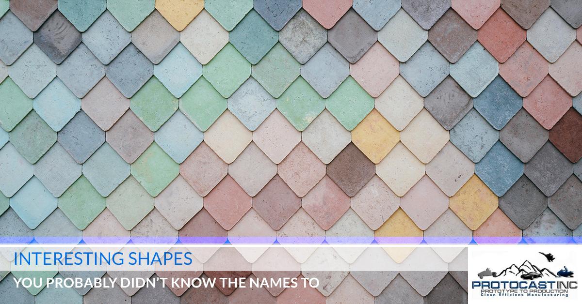 Machine Shop Denver: Lesser Known Shape Names