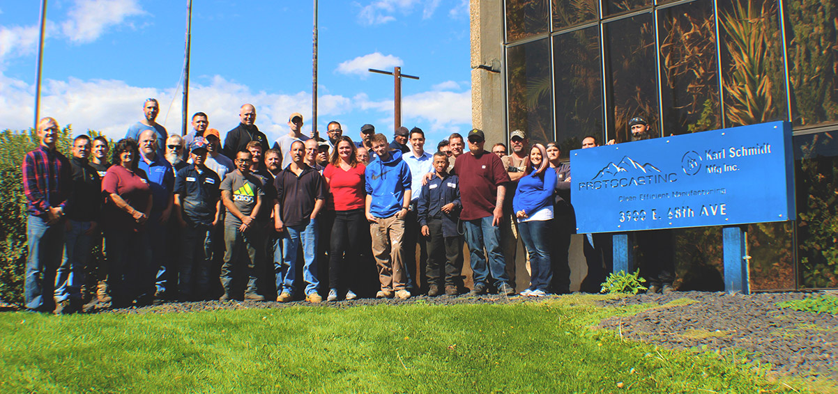 The team at Protcast, Inc., Denver's go-to machine parts partner