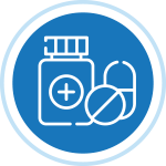 Pill bottles icon