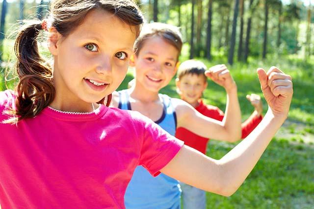 kids lose weight