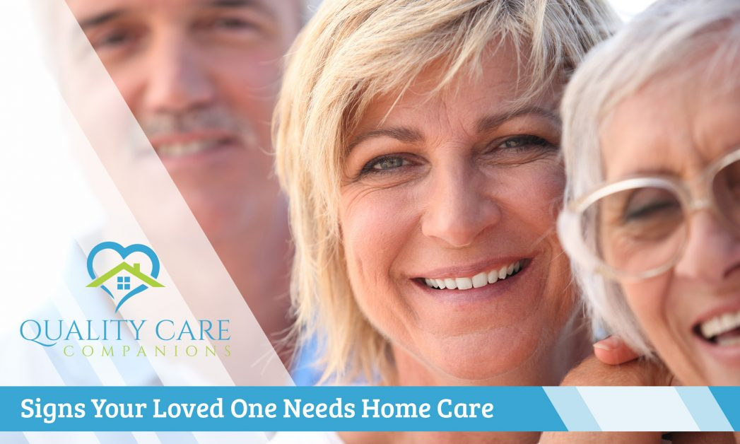 Signs Your Loved One Needs Home Care Banner