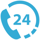 24-Hour Call Icon