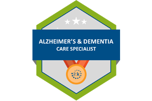 Alzheimer's and Dementia Badge