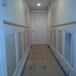 Crown molding installation services in Seattle.