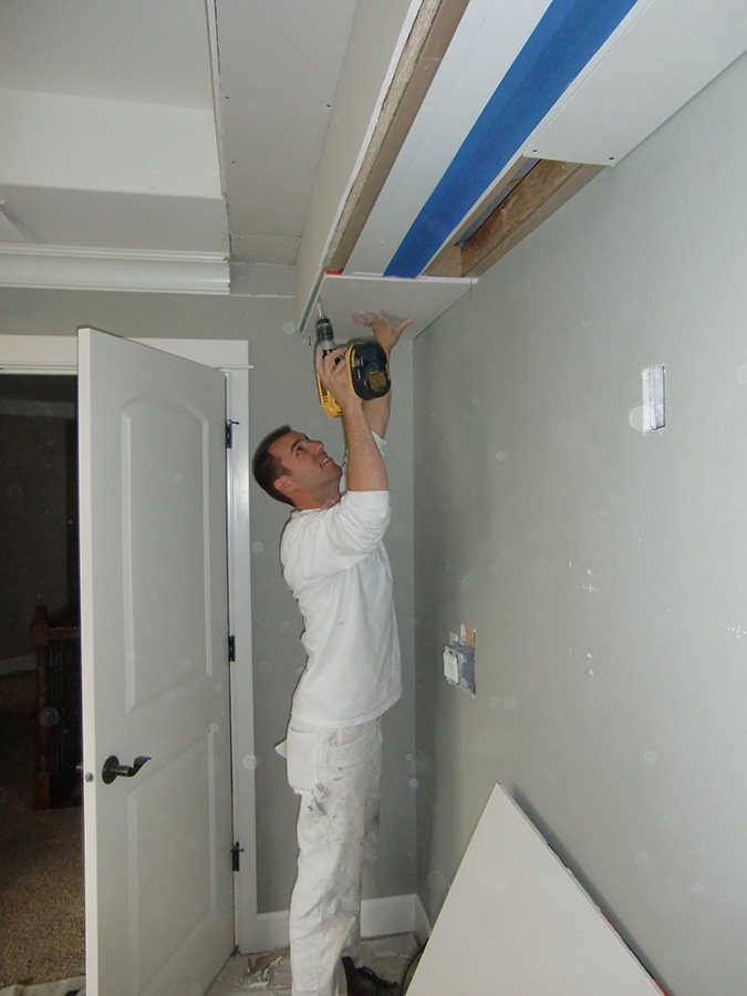 Movie Screen Soffit - Handyman Services Seattle | Queen Anne Painting