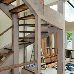 Carpentry services available in Seattle.