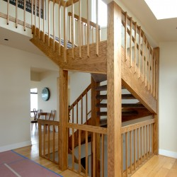 Carpentry stair services in Seattle.