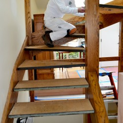 Let us build you new stairs! Call our carpenters now!