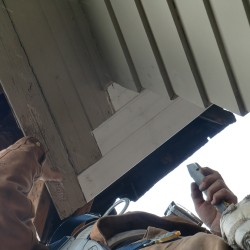 Siding repair in Seattle.