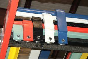 push-back storage rack Rack Builders Inc