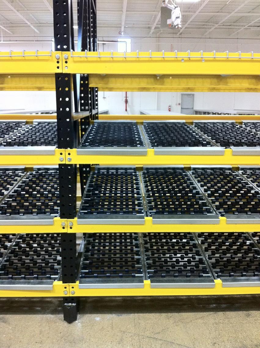 carton flow rack -Rack Builders Inc.