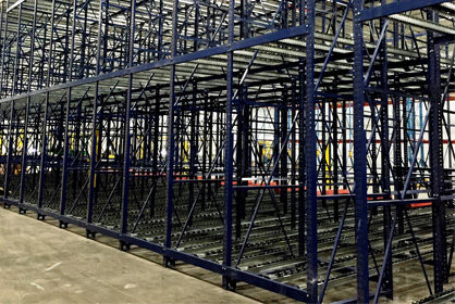 Pallet Flow Pallet Racking -Rack Builders Inc.