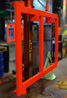 Structural Steel Pallet Rack Manufacturing - RBI