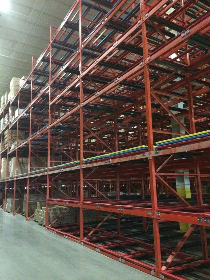 Push Back Gallery Rack Builders Inc