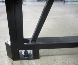 Cornerstone Pallet Rack Base -Rack Builders Inc