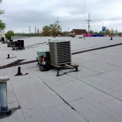 business roof installation
