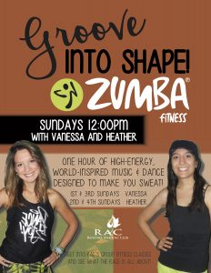 Zumba w heather and vanessa