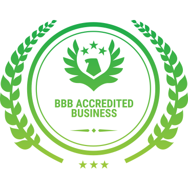 A BBB accredited badge