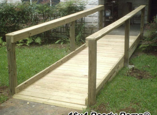 Wheelchair ramps for homes wheelchair ramp installation for Custom home build calculator