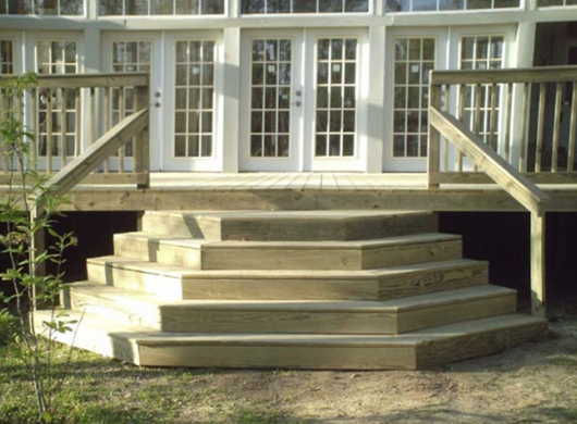 Wedding Cake Steps Wooden Steps For Mobile Home Manufactured