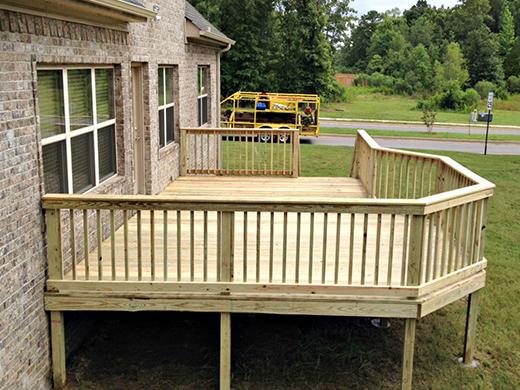 deck builder benton deck contractor ar screen porch systems