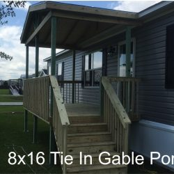 8x16 gable porch - Ready Decks