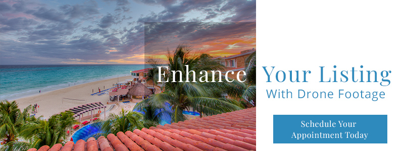 enhance your listing with drone footage