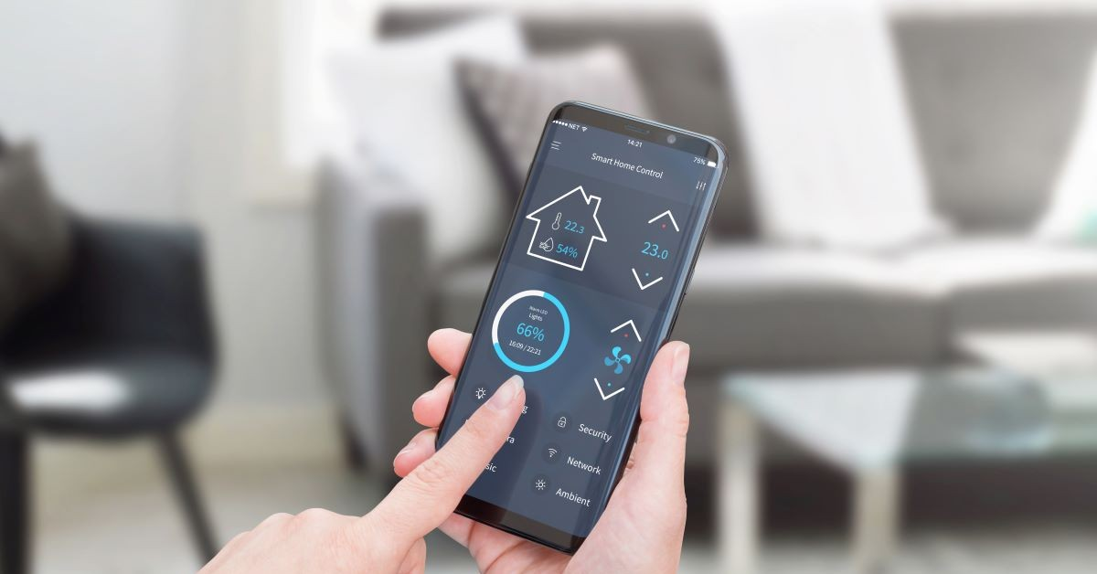 smart home control from smart phone