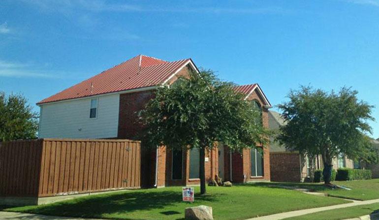 Rebuild Texas installs metal roofs in Texas.