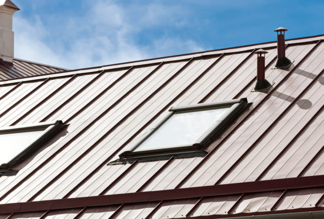 Image result for Metal Roofing istock