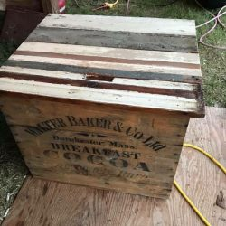 Repurposed Wood Box