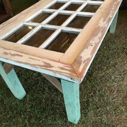 Repurposed Door Tabletop
