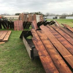 Repurposed Wood Staining
