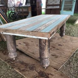 Large Repurposed Wood Table