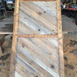 Repurposed Wood Barn Door