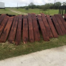 Stained Reclaimed Wood