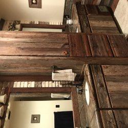 Reclaimed Wood Bathroom Cabinetry