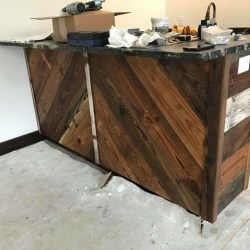 Reclaimed Wood Bar